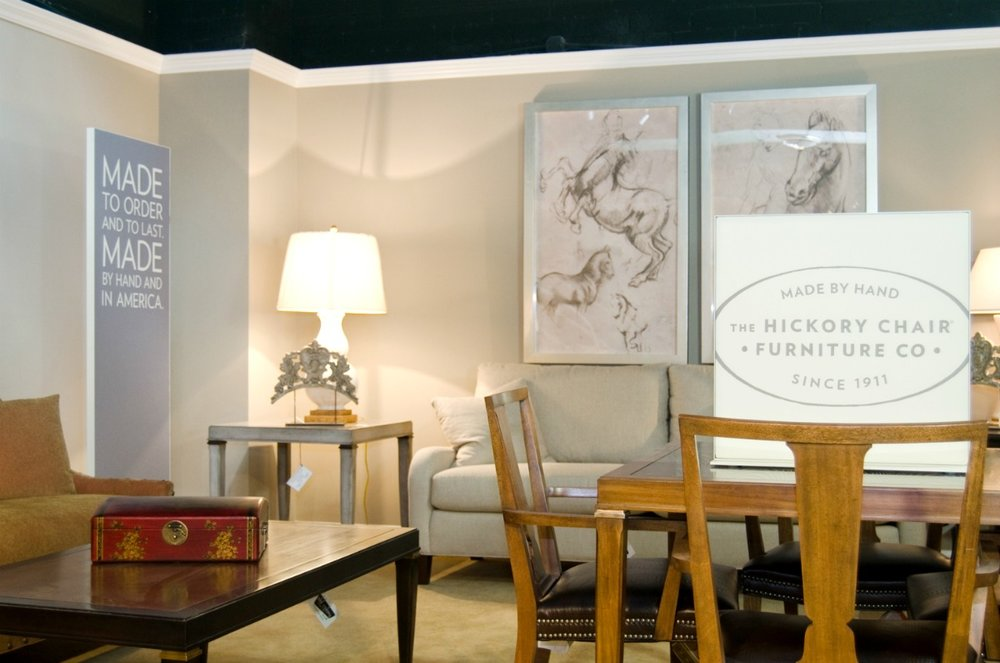 Hickory Furniture Matrix Frame Showroom Displays