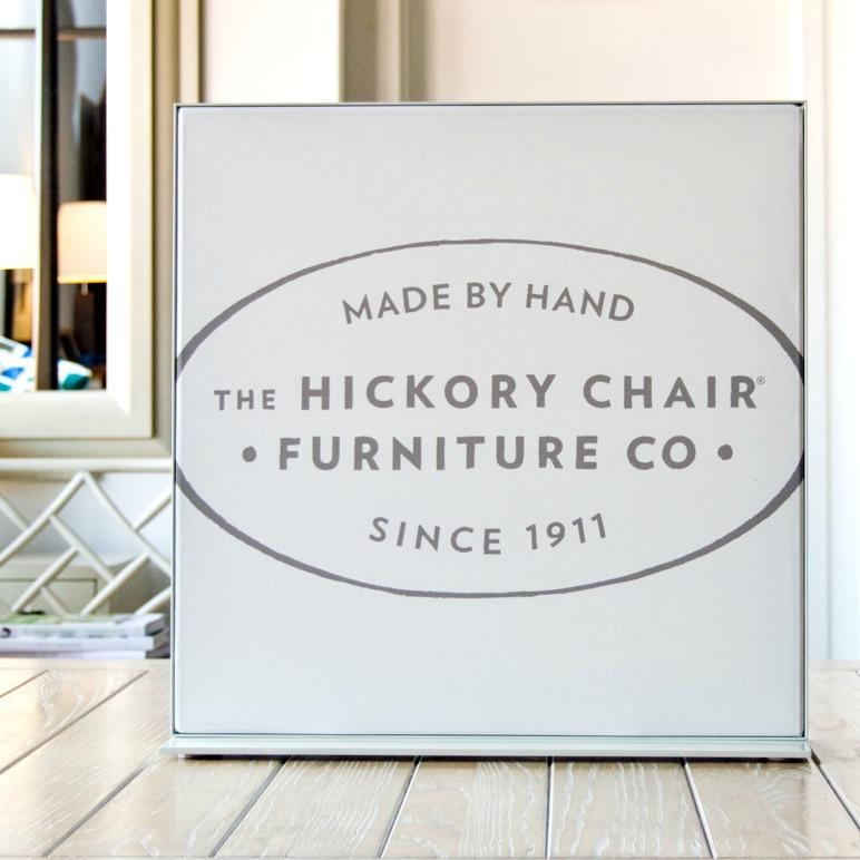 Hickory Furniture Matrix Frame Table-top Display