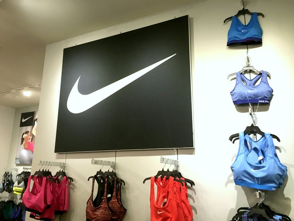 Nike Wall Mounted Tension Fabric Frame