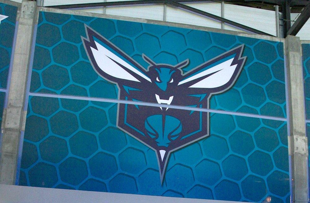 Hornets Tension Fabric Matrix Frame