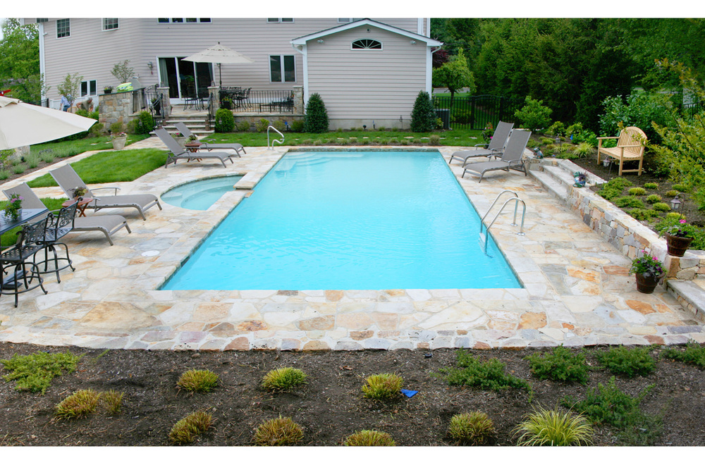 There Has Been An Evolution In Concrete Pool Design Over The Past 50 Years.  From The Simple Rectangles Of The Late 1960u0027s To The Free Form Craze Of The  ...