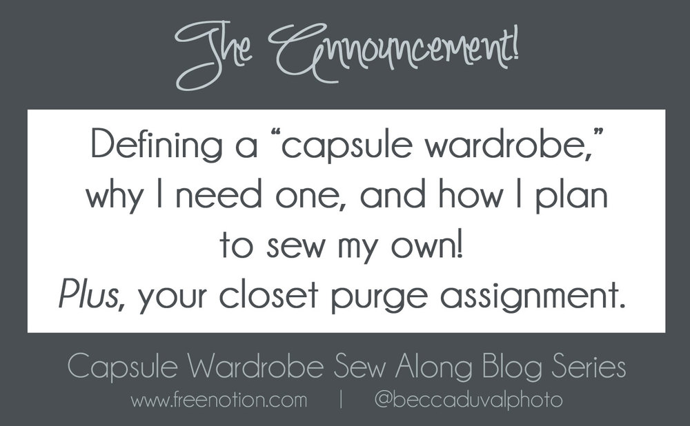 Summer Capsule Wardrobe The