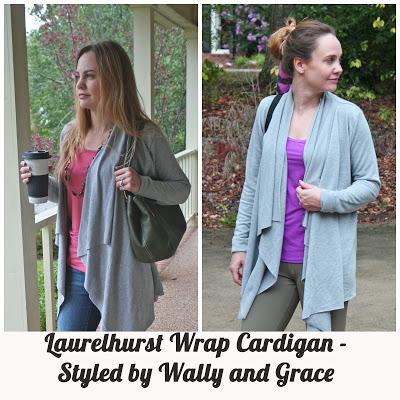 Straight Stitch Designs' Laurelhurst Wrap