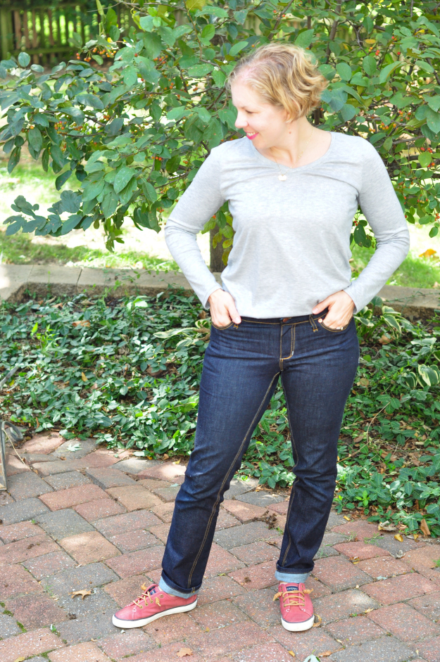 Sewing Jeans - from PDF patterns!