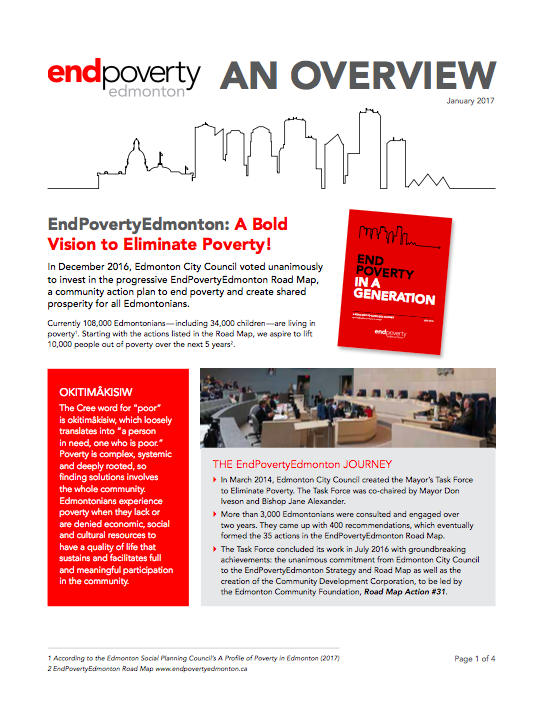 EndPovertyEdmonton 2017 Overview Cover.png
