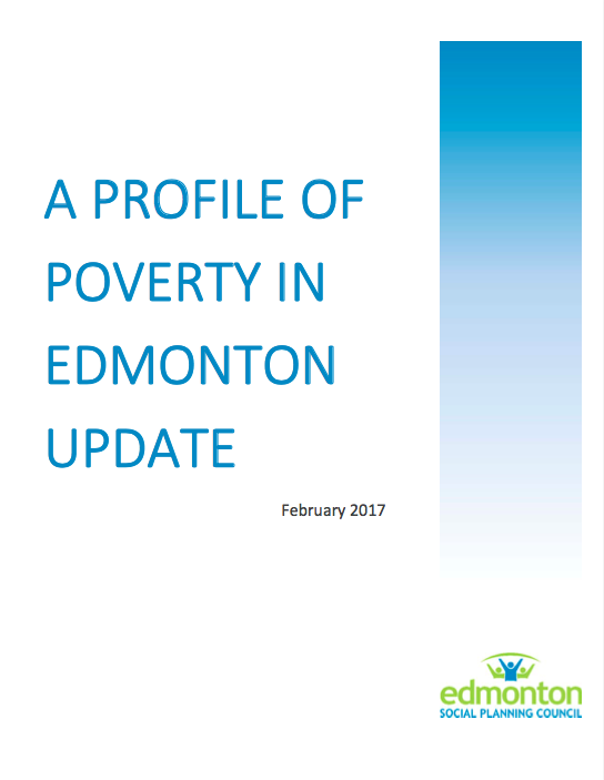 Profile of Poverty in Edmonton Update 2017 Cover.png