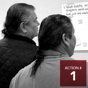 Action 1 - Design and plan a new Indigenous Culture and Wellness Centre.