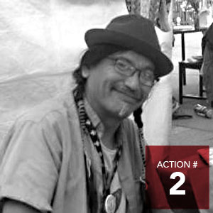 Action 2 - Create spaces, events and opportunities to show and grow the talents of Indigenous Edmontonians.