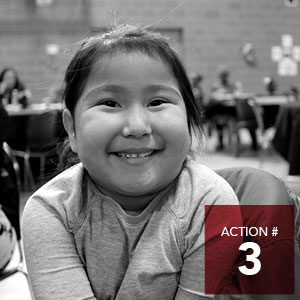 Action 3 - City of Edmonton to complete a review of programs and services to better reflect the needs of Indigenous peoples and champion the Truth and Reconciliation Commission Calls to Action.