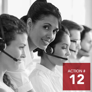 Action 12 - Incentivize business, educational institutions and not-for-profit employers to implement intercultural competency and anti-racism education in their institutions.