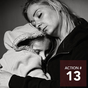 Action 13 - Implement the Communities United initiative in five Edmonton communities.