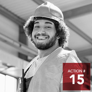 Action 15 - Actively encourage local employers in all sectors to learn about and implement living wage policies