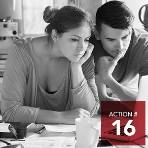 Action 16 - Expand the spectrum of financial empowerment initiatives.