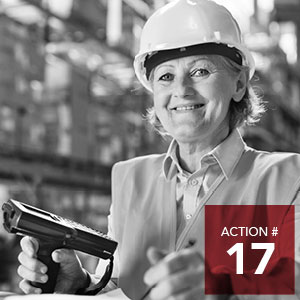 Action 17 - Initiate a community dialogue to remove systemic barriers and improve coordination of training and employment opportunities.