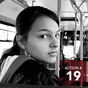 Action 19 - Provide free transit passes for agencies to distribute to vulnerable youth and adults.