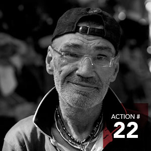 Action 22 - Increase supports to the Community Bridge initiative to prevent evictions.