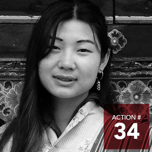 "Action 34 - Create a ""Design by Doing"" social innovation lab to catalyze grassroots community-led projects as prototypes to end poverty"