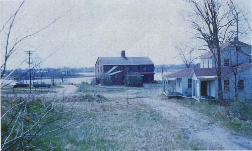 The house as it appeared when the Association took possession in 1948.