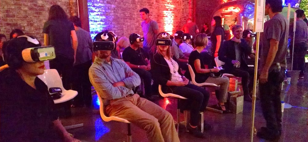 The Kaleidoscope VR Film Festival held at LA River Studios in Los Angeles in September of last year.