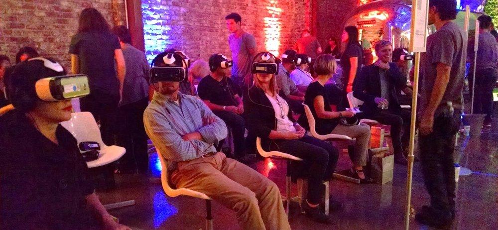 The Kaleidoscope VR Film Festival held at LA River Studios in Los Angeles in September of last year.