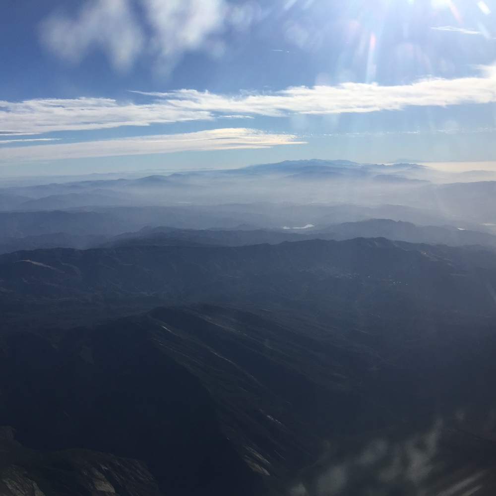 Above the San Fernando Valley