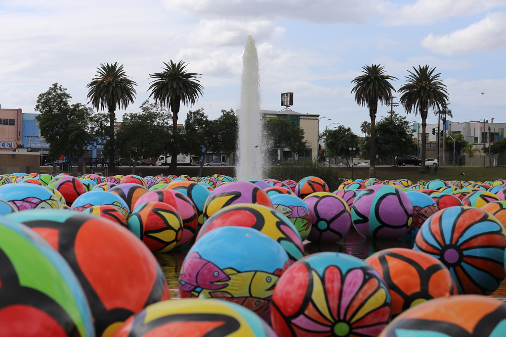 Balls in MacArthur Park