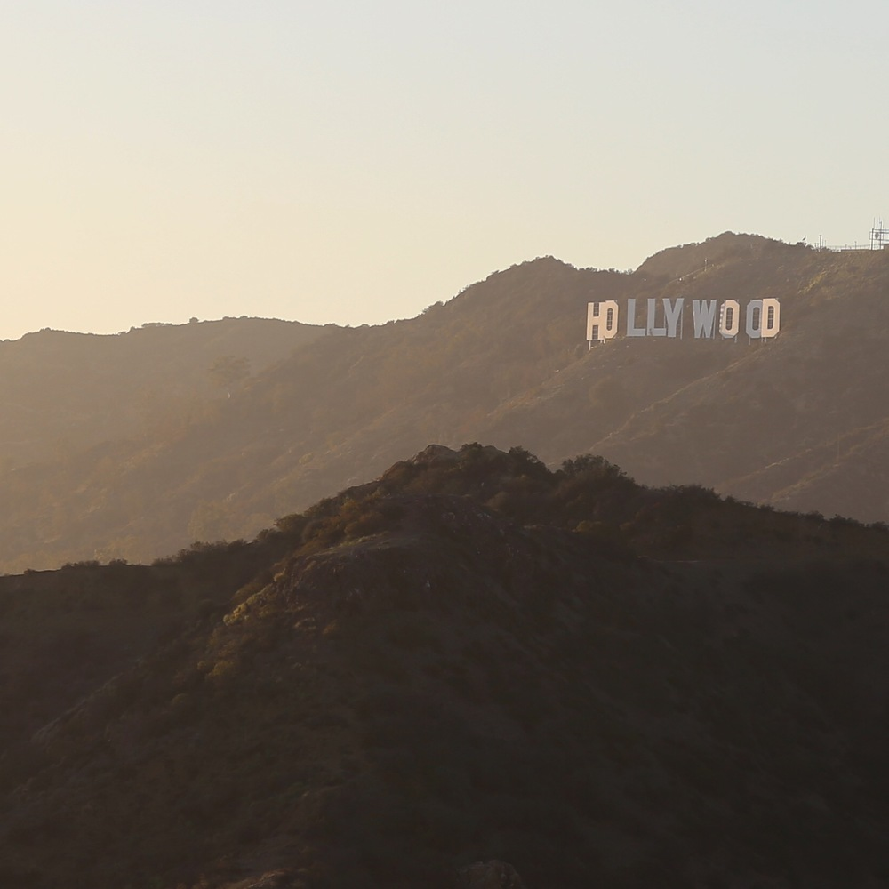 Hollywood Sign from Griffith Park