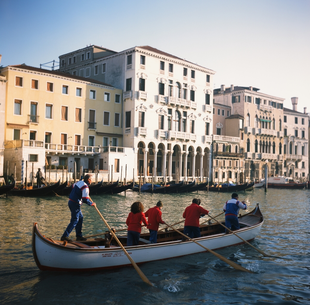 Crossing the Grand Canal