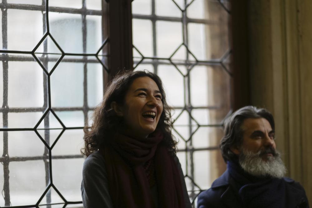 Jelena Ivanisevic of Scuola Grande San Giovanni Evangelista and Lorenzo Cinotti of Venezia da Vivere
