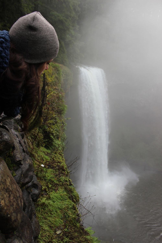 Natalia Toral at Silver Falls