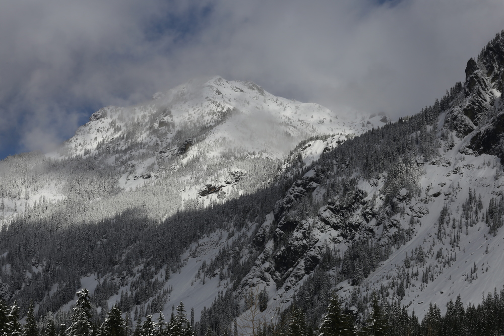 Above Snoqualmie Pass
