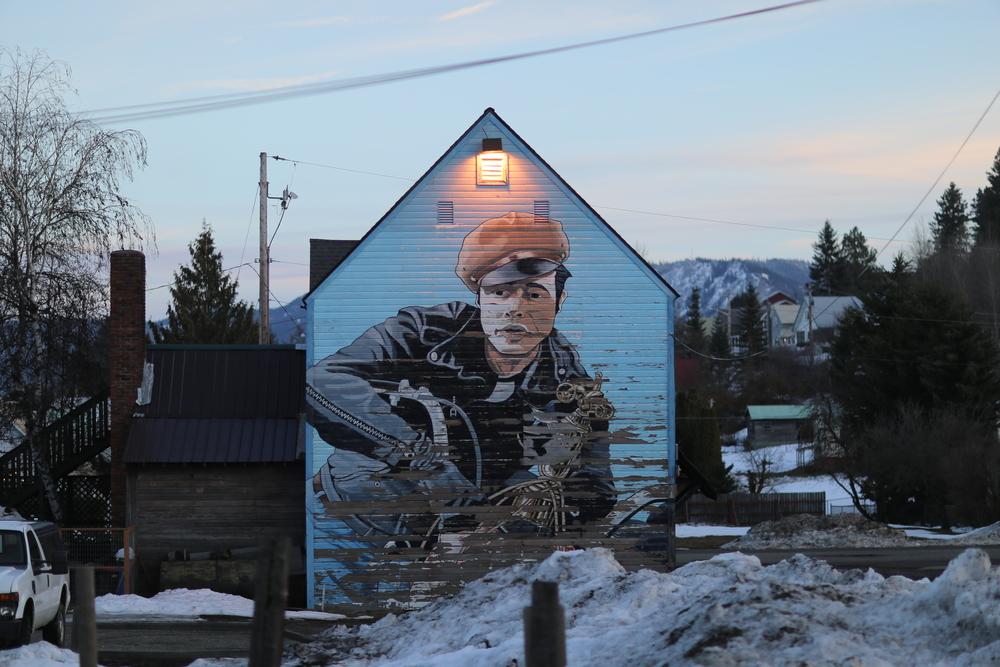 Brando mural, Roslyn