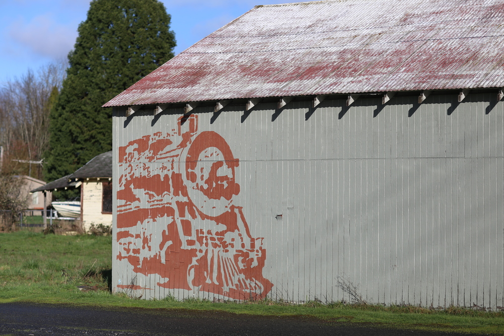 Vader mural