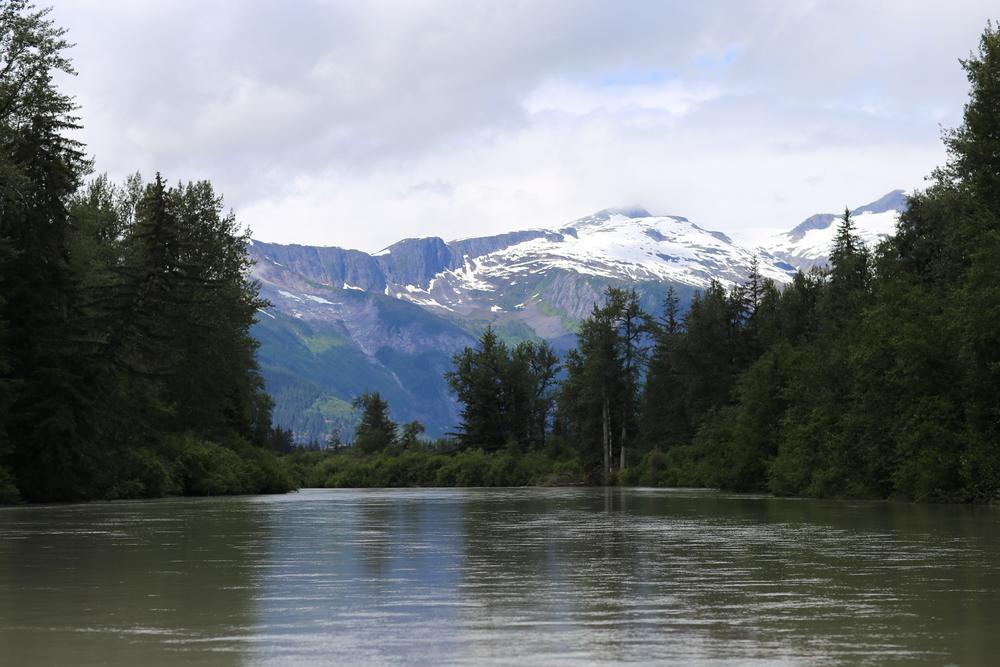 Traveling to Warm Lake, Alaska