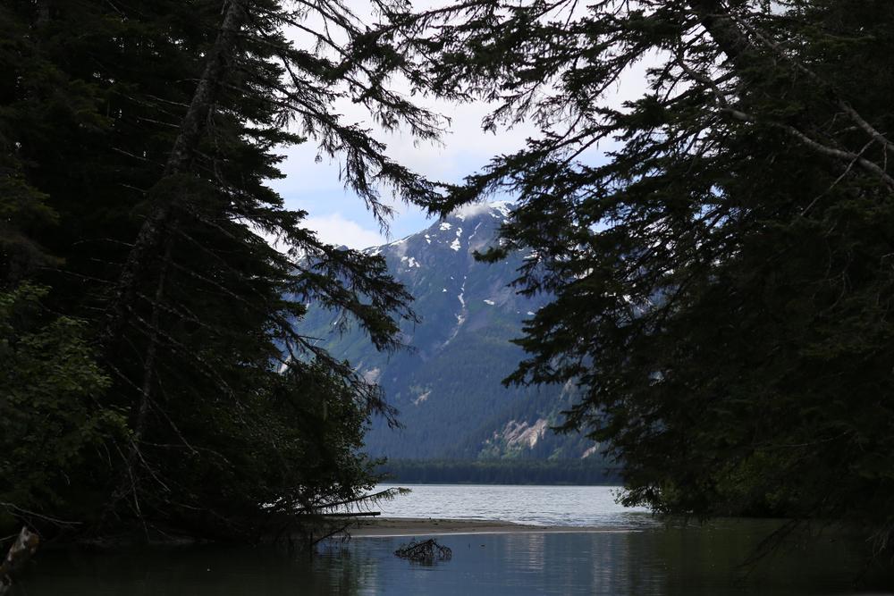 Entering Twin Glacier Lake, Alaska