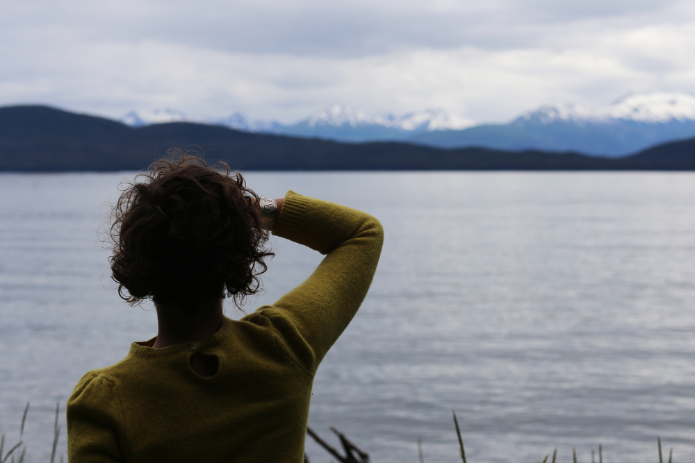 Meghan Sinnott surveys the Chilkat Mountains