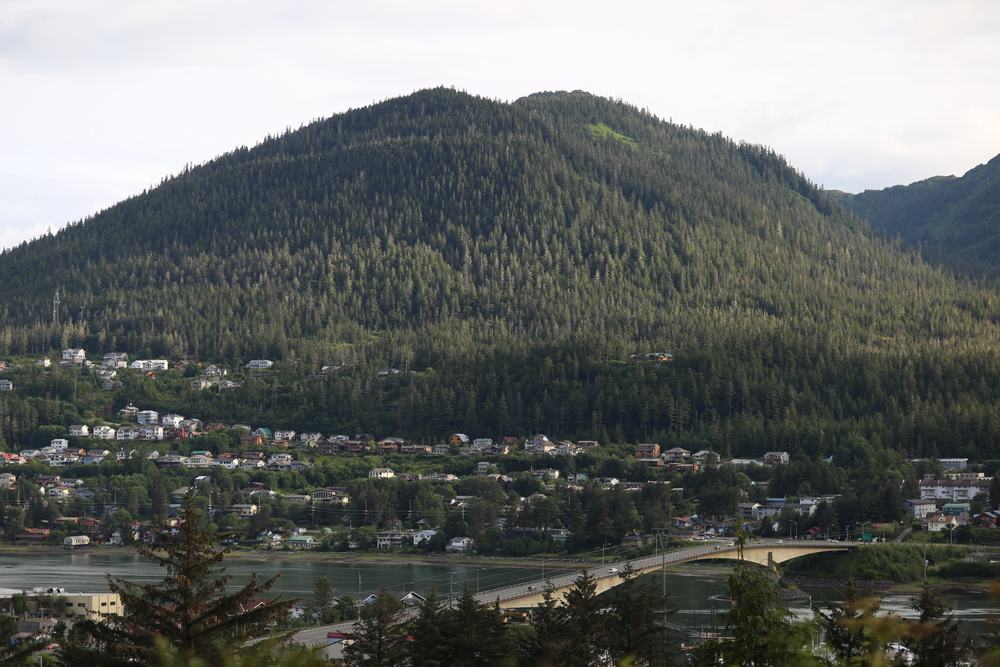 Douglas, seen from Juneau