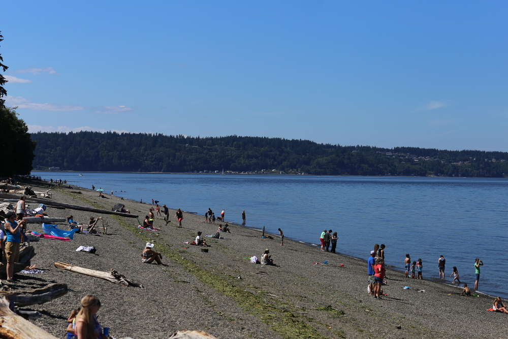 Owen Beach with Gig Harbor in the background
