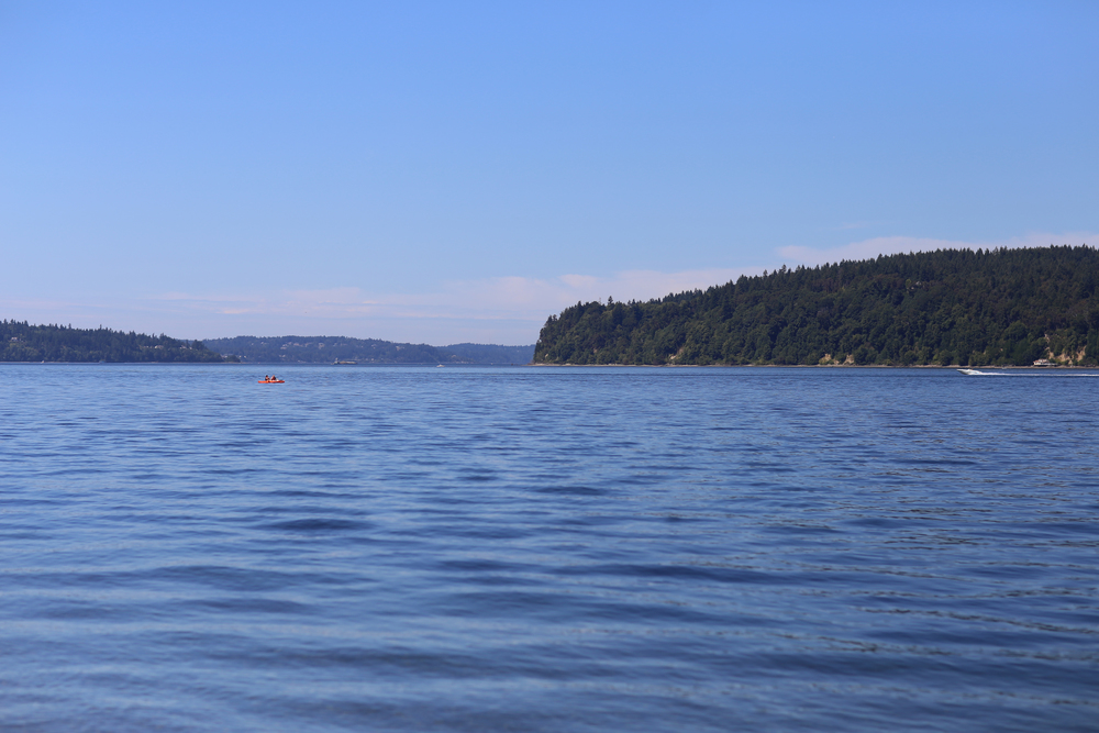 Vashon Island in the Pugent Sound