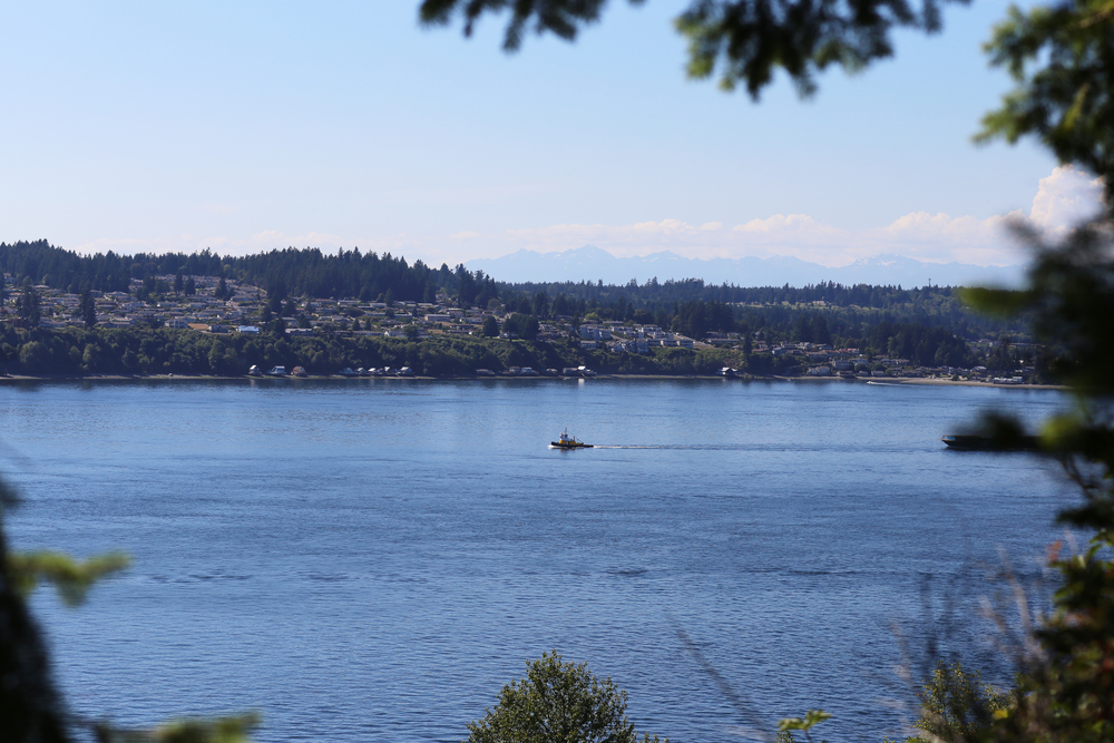 Point Defiance offers wonderful views of Pugent Sound