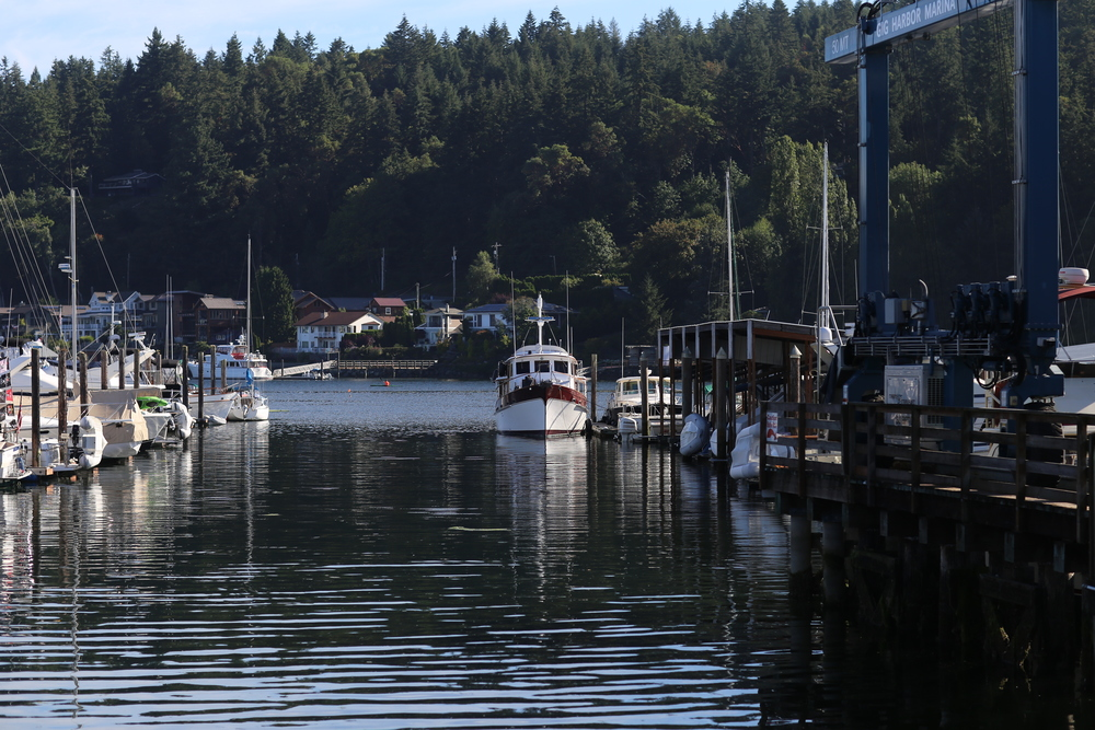 Gig Harbor on a perfect, tranquil morning
