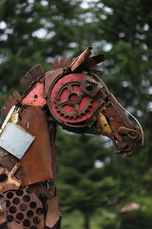 An iron horse