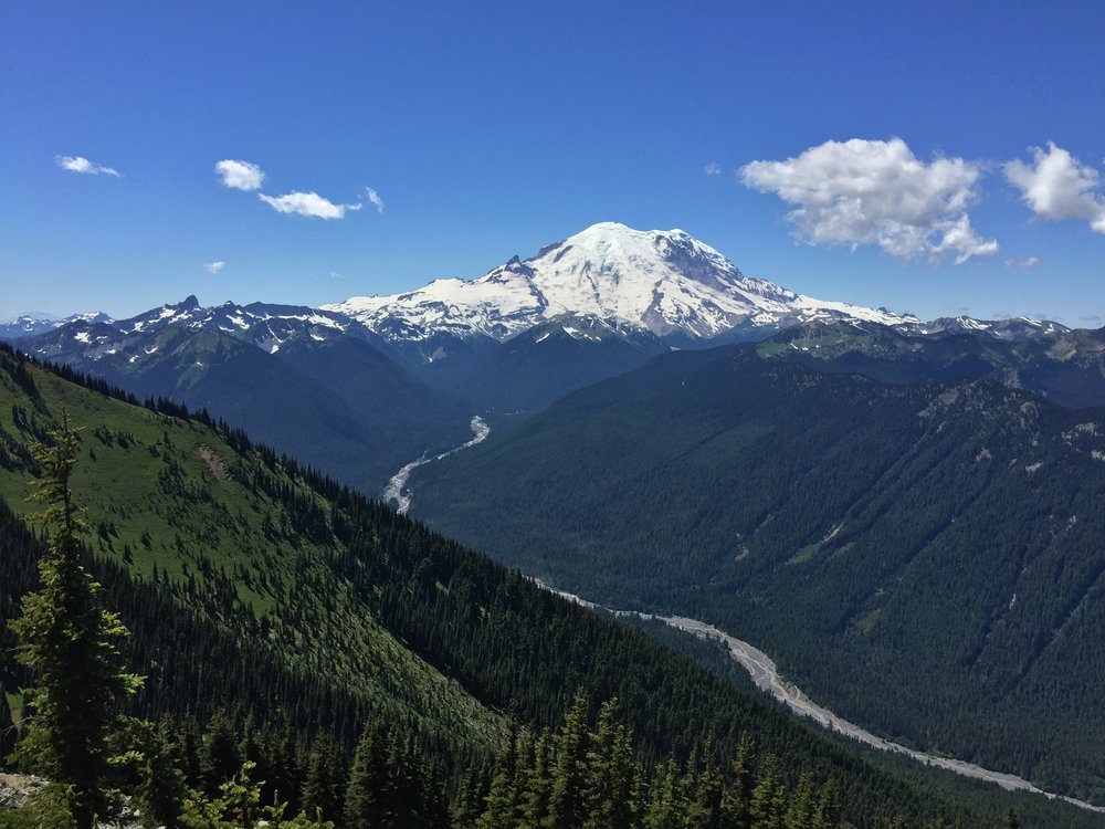 View of Rainier (iPhone)