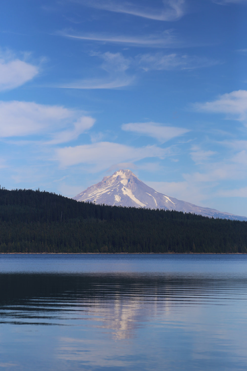 Mount Hood above Timothy Lake