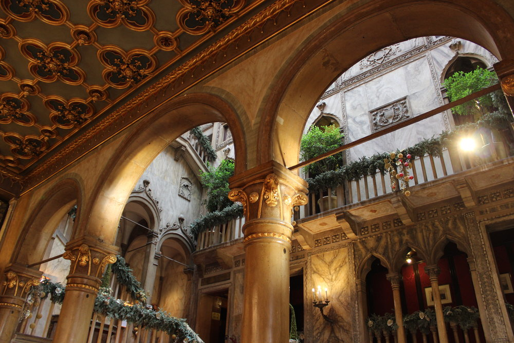 Lobby of the Hotel Danieli