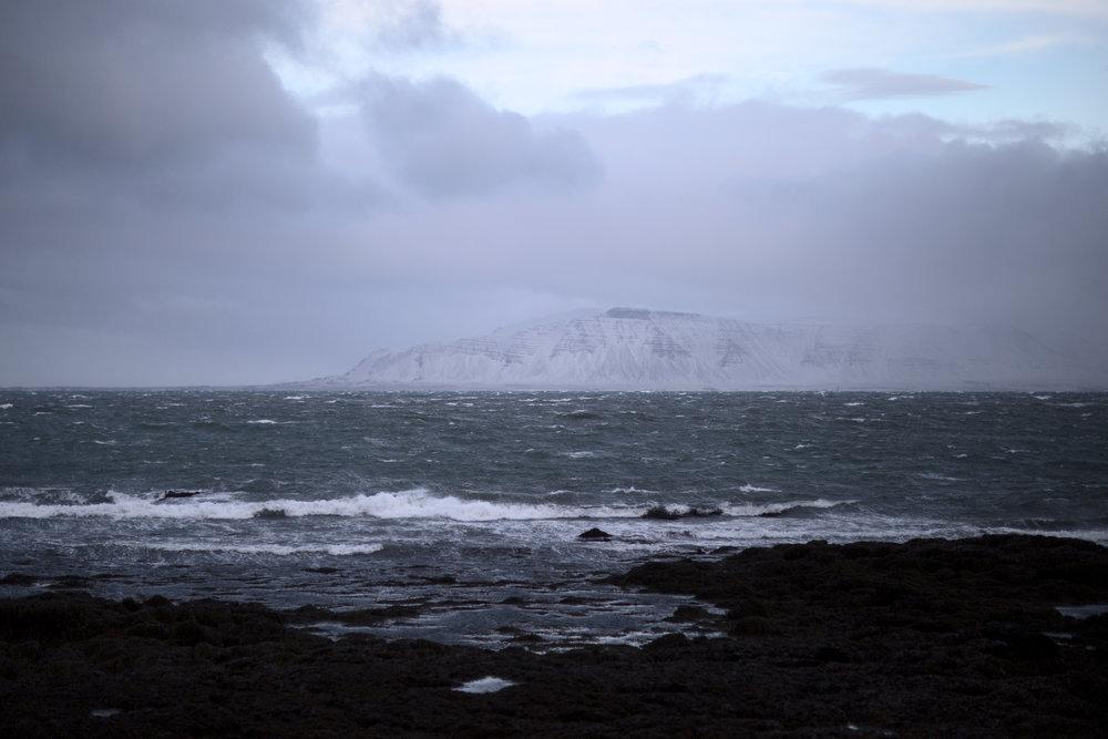 Wild ocean, near Grótta