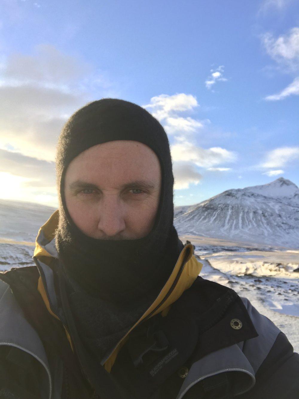Selfie with Þrihyrningr