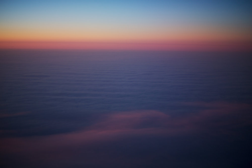 Sunrise far above Canada (2)