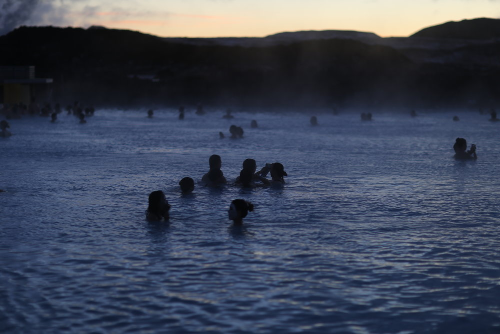 Blue lagoon, before sunrise