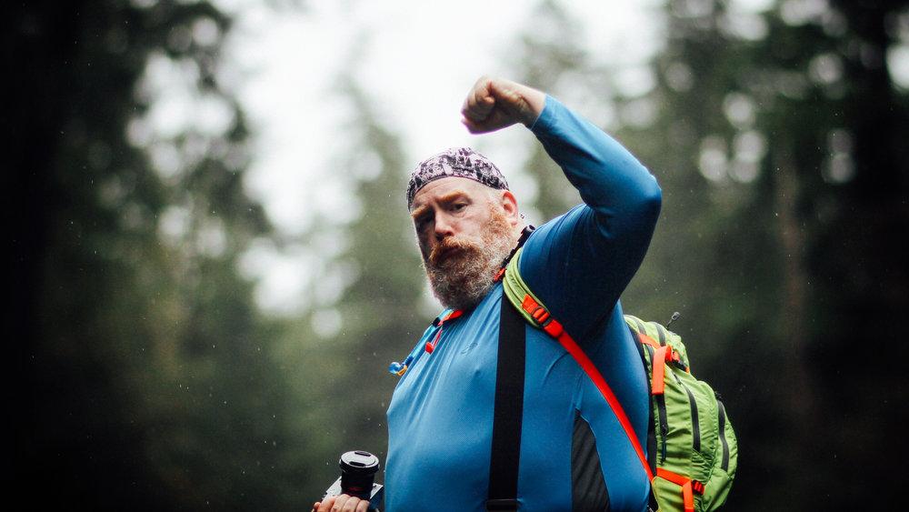 Mountain man, Mick Orlosky